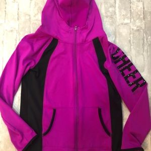 Justice - zip up hoodie
